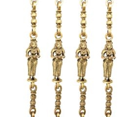 Brass Swing Chain Set Jhoola Chain(Set Of 4 Pieces)