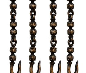 Decorative Brass Swing Chain(Set Of 4 Pieces)