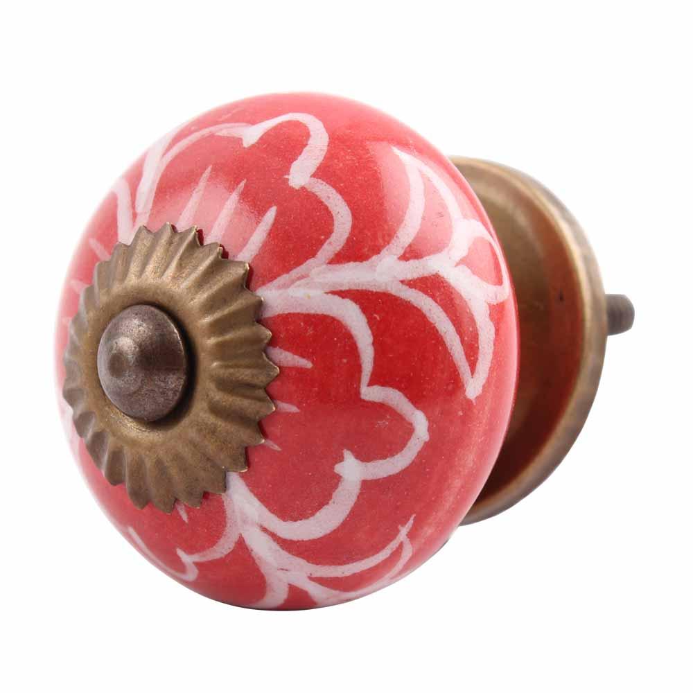 Gloriosa Ceramic Knob