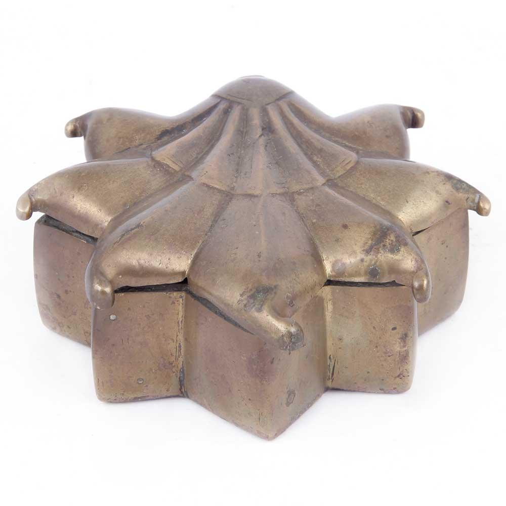 Bronze Floral Storage Box