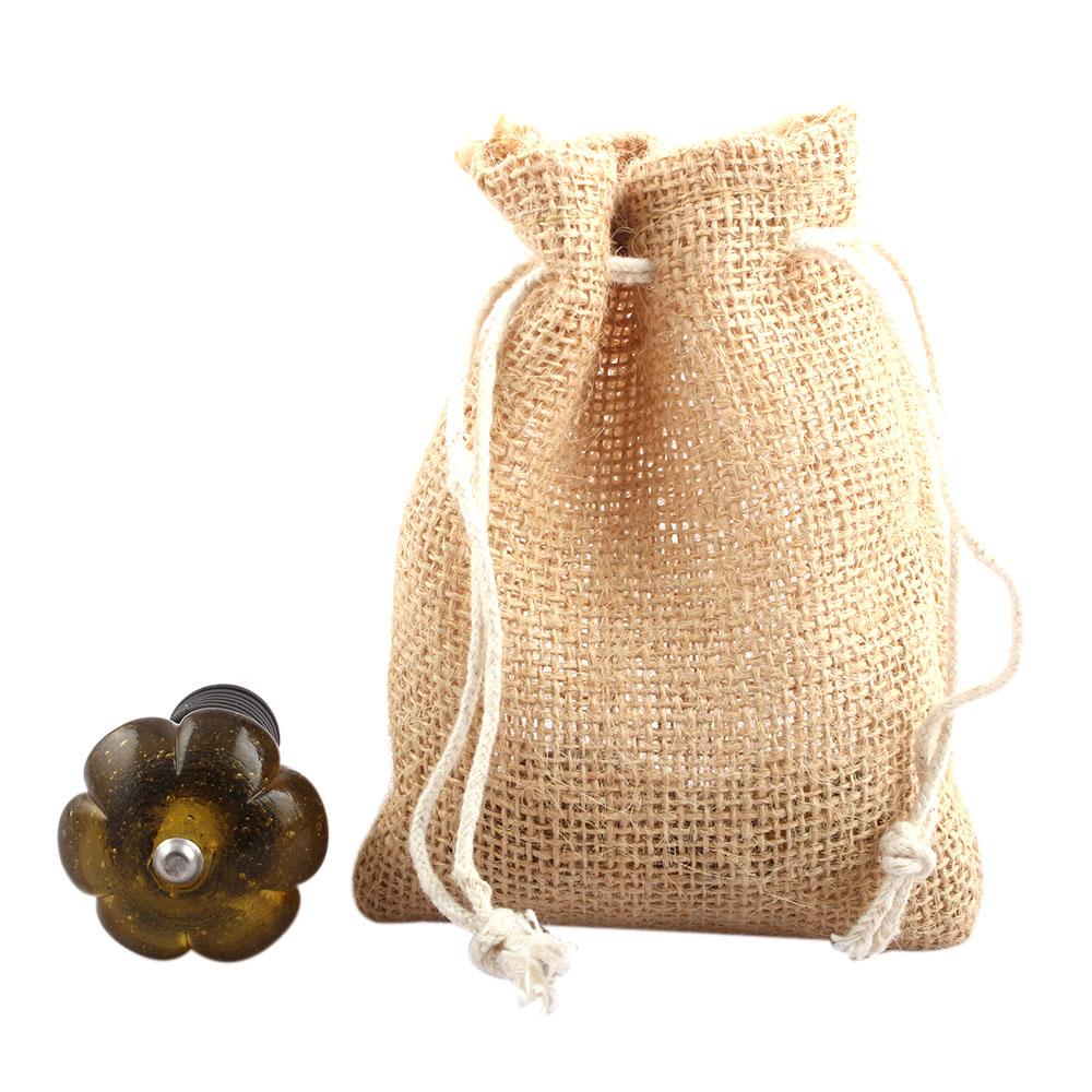 Olive Melon Glass Wine Stopper