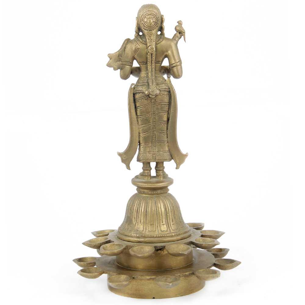 Brass Deepalakshmi Multidiyas