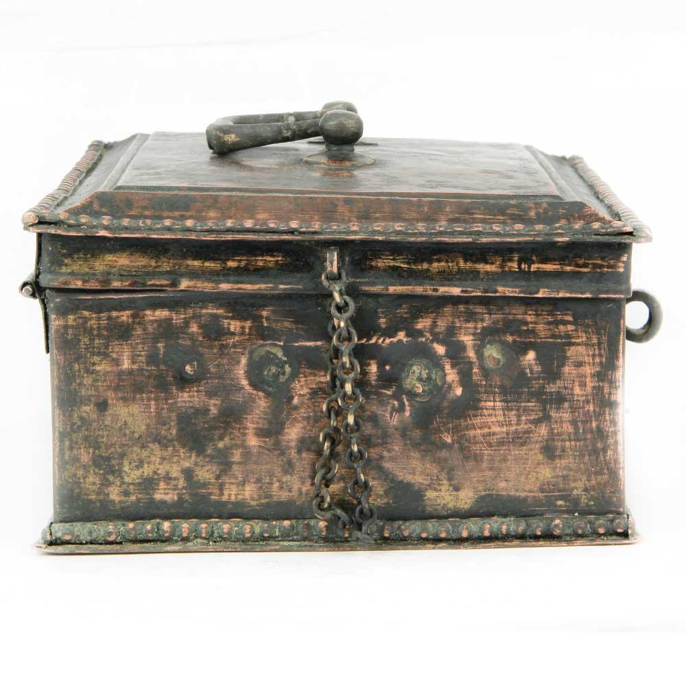 Vintage Brass Paan Daan Betel Nuts Box Jewellery Box