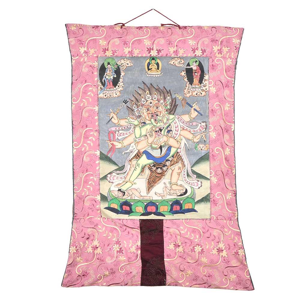 Thangka Depicting Vajrabhairava Painting