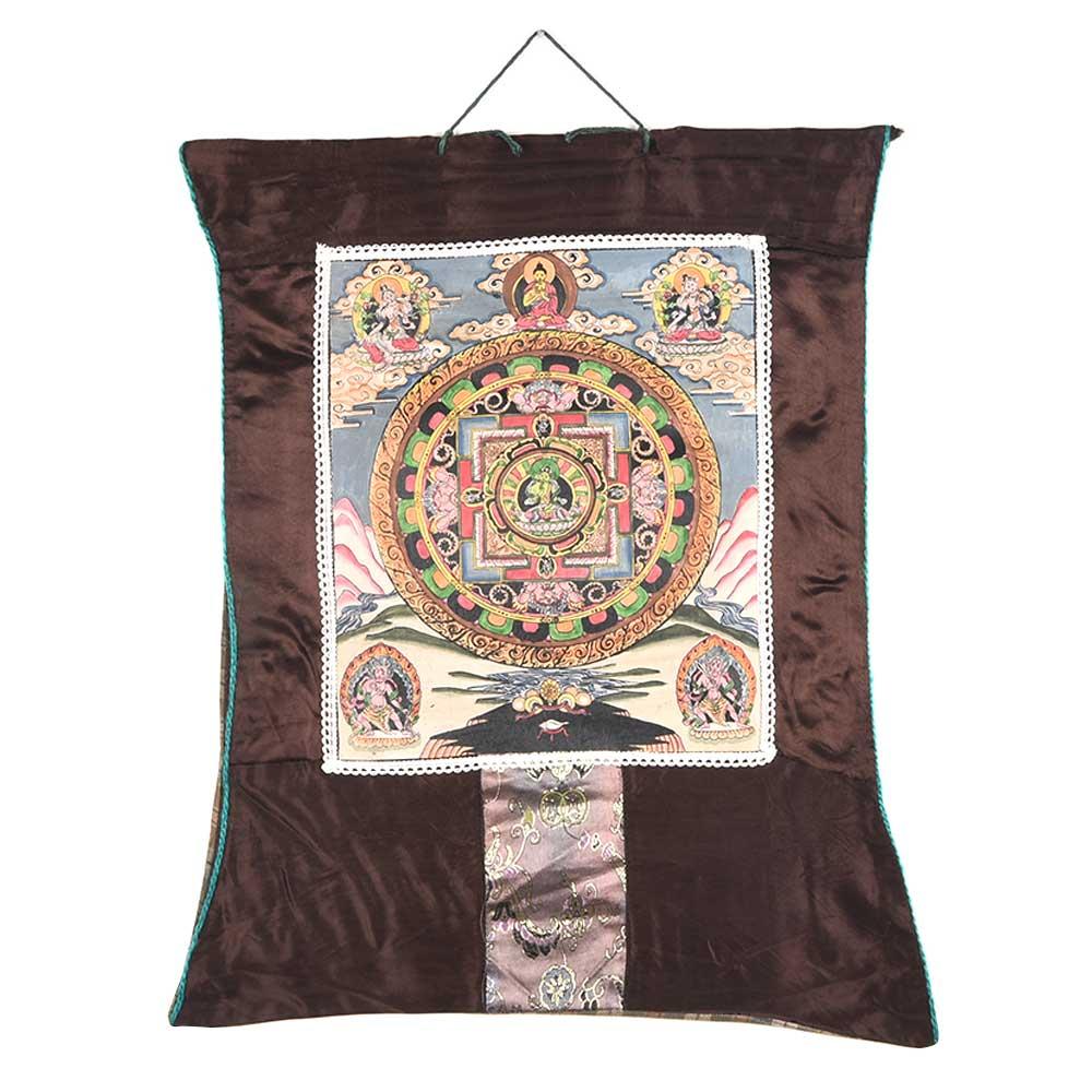 Mandala Of The Buddhist Deity Chakrasamvara