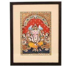 Lord Ganesha Tanjore Painting 14