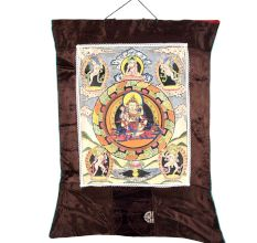 Vajrasattva The Sixth Dhyani Buddha With Consort