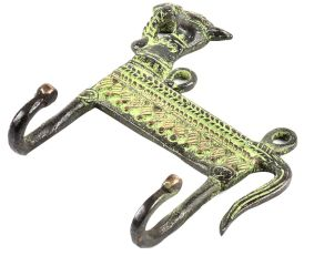 Decorative Bronze Camel Two Wall Hooks
