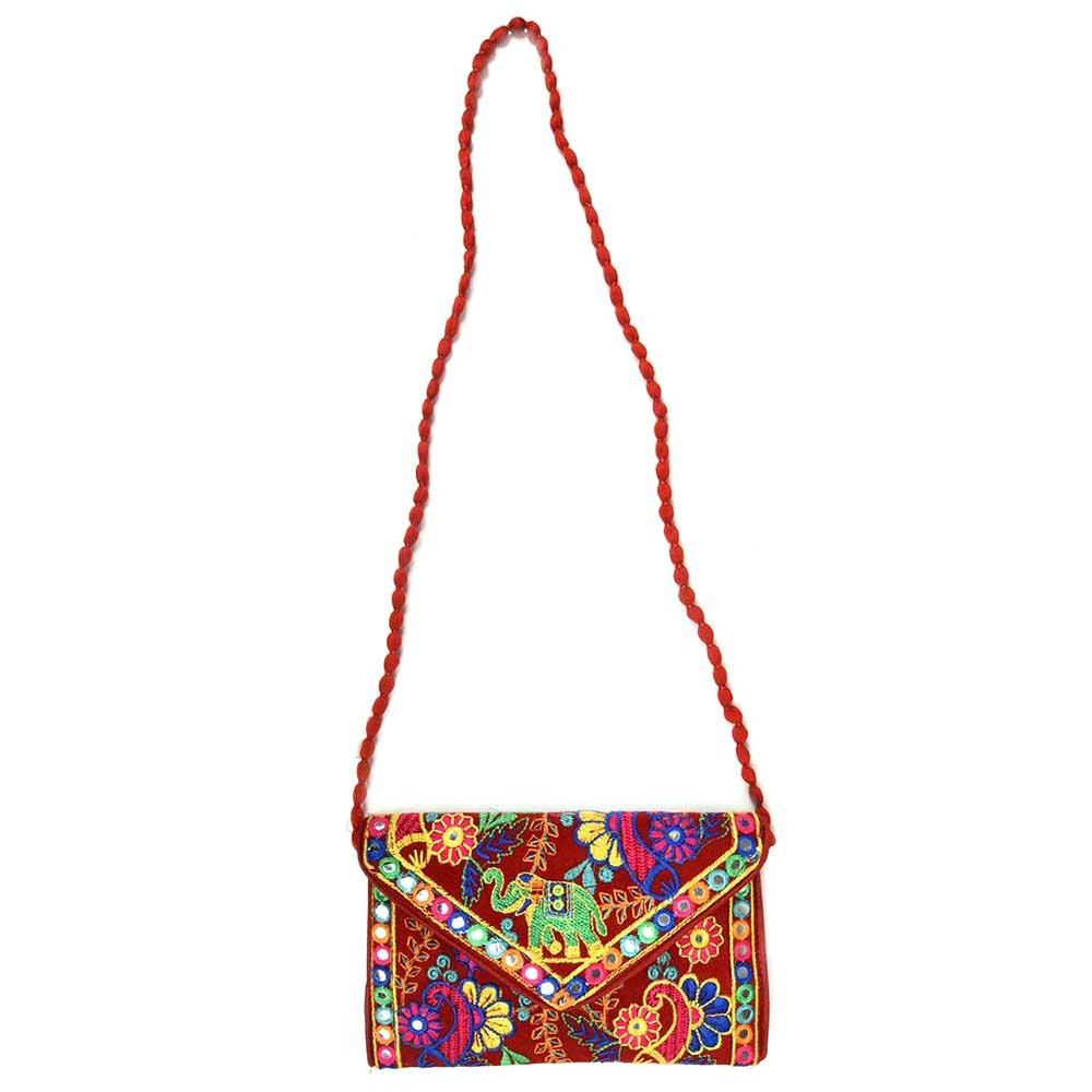 Orange Dumru Dori Bag