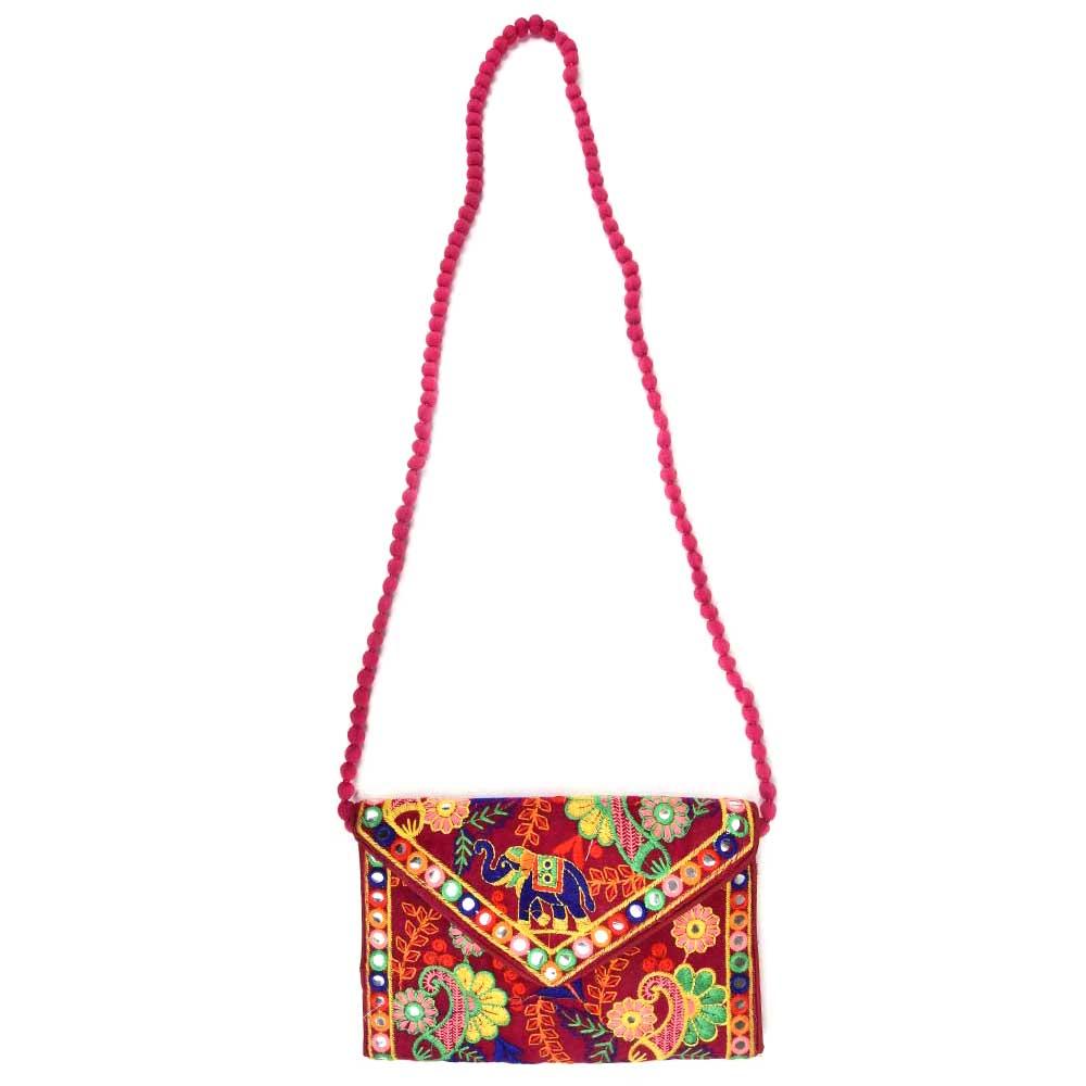 Red Dumru Dori Bag