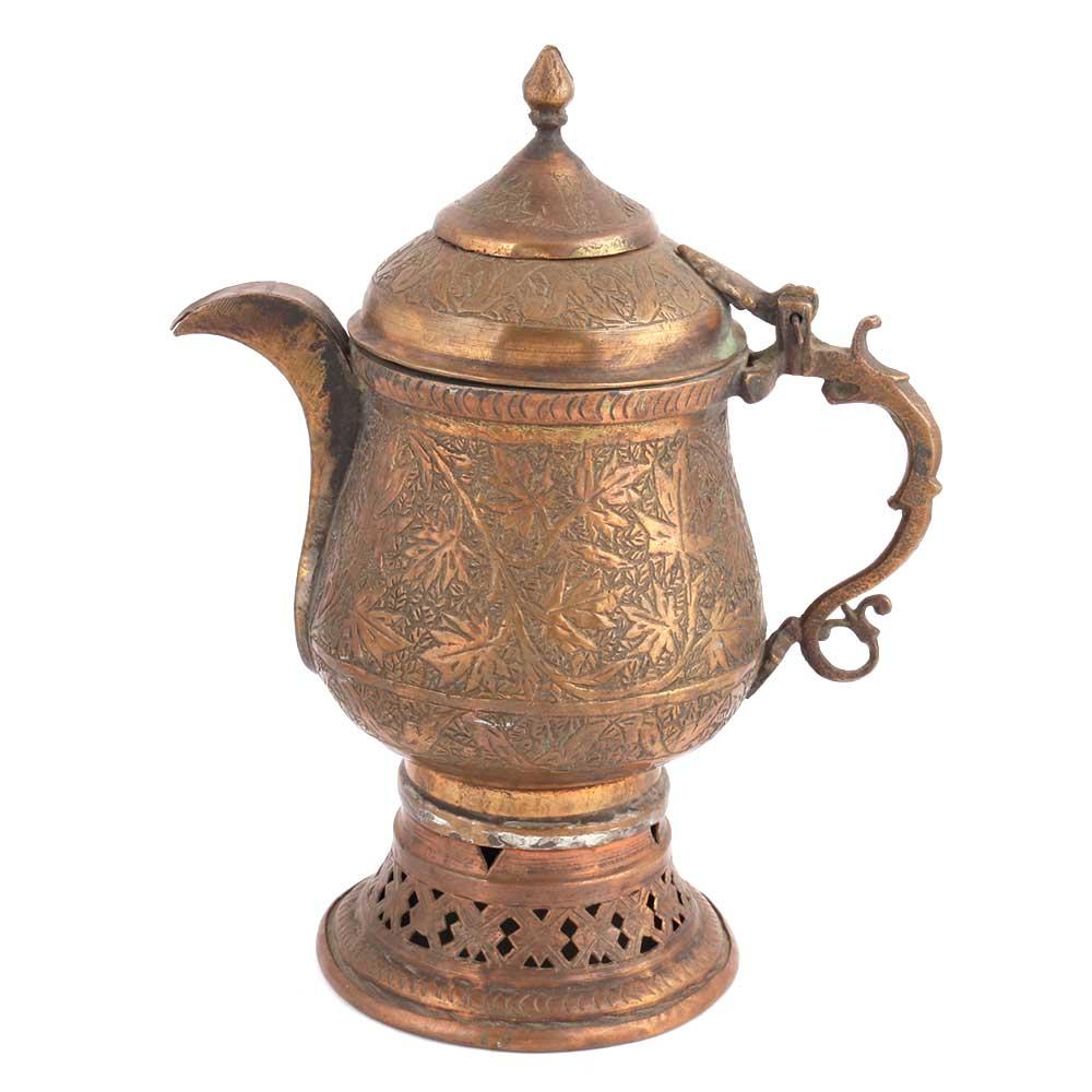 Copper Samovar Tea Kettle