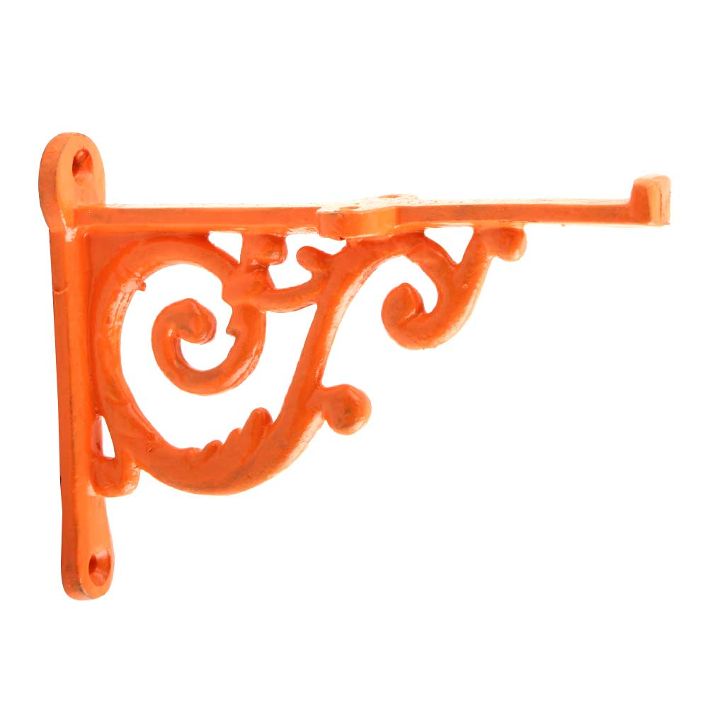 Orange Small Shelves Brackets