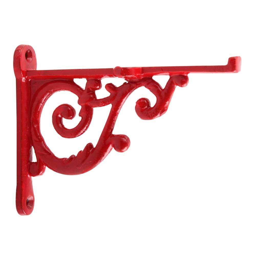 Red Small Shelves Brackets