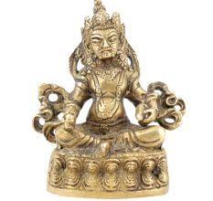 Lord Kuber Brass Sculpture