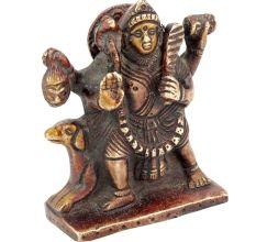Brass Bhairava Statue