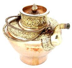 Brass Copper Ladakhi Tea Pot