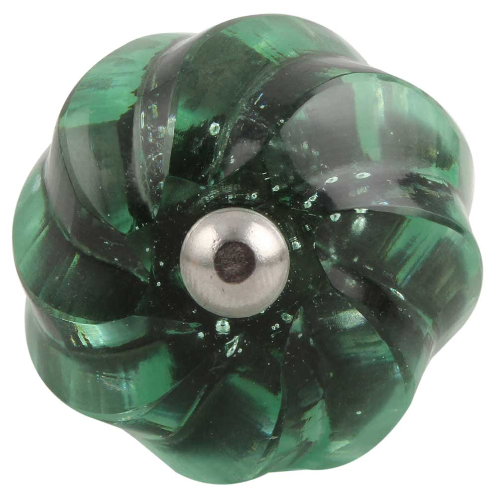 Mint Interior Glass Cut Wine Stopper
