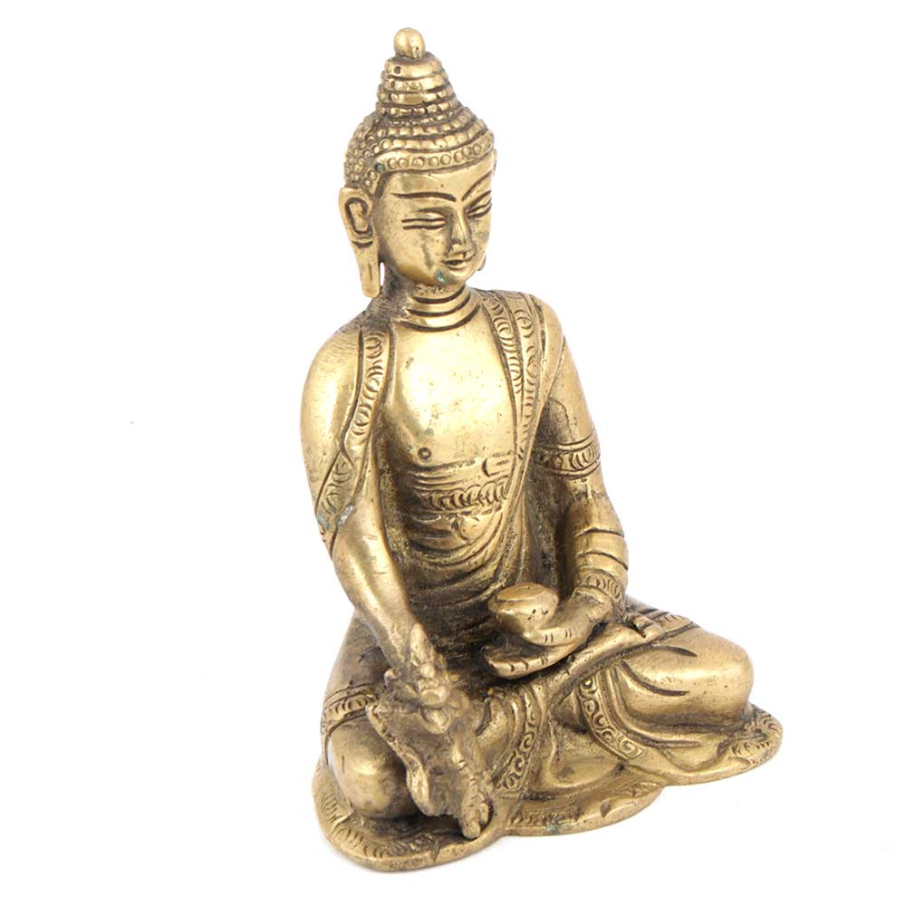 Brass Medicine Buddha Statue