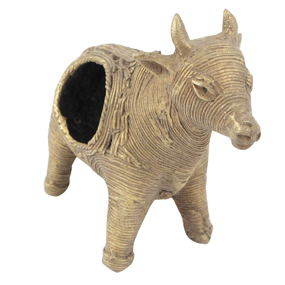 Brass Cow Home Decor Napkin Holder