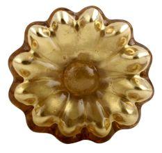 Golden Mercury Sunflower Glass Drawer Knob Online