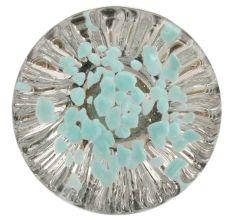 Water Paneled Sides Glass Drawer Knob Online