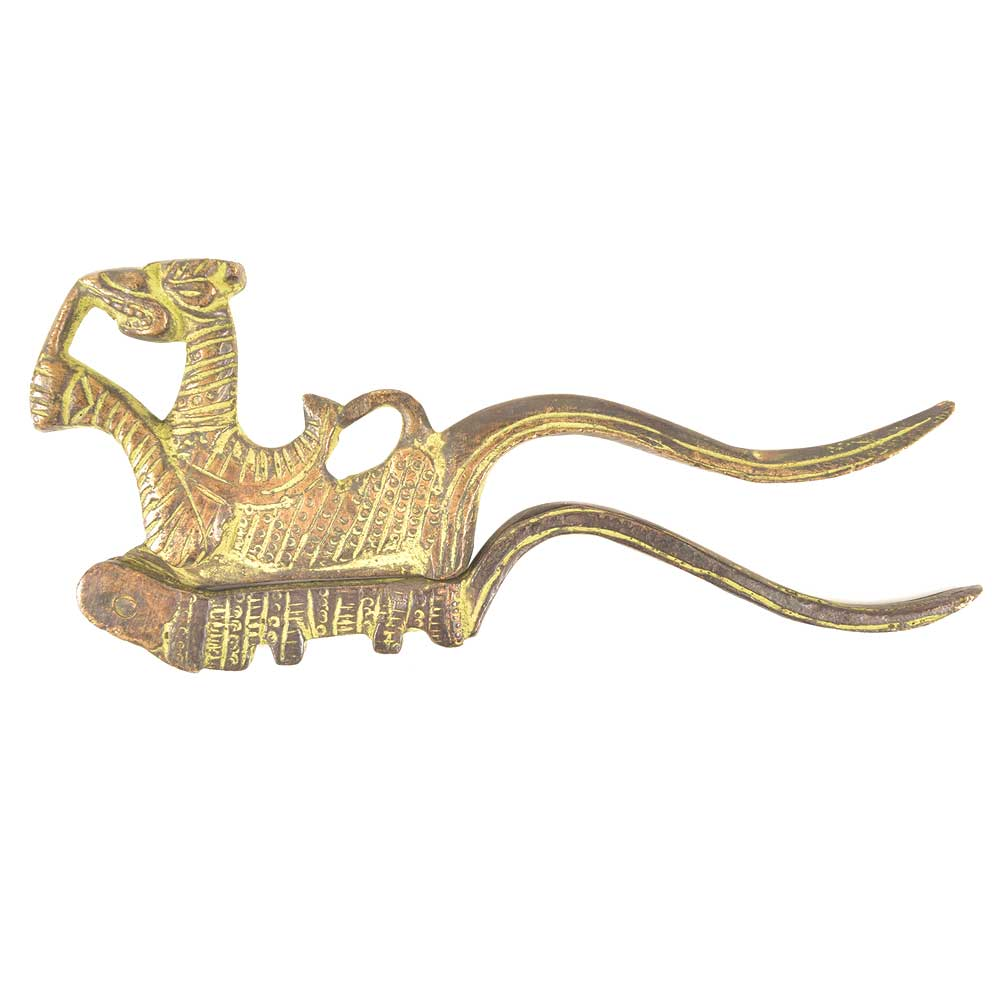 Hand Crafted Dragon Shaped Nut Cracker