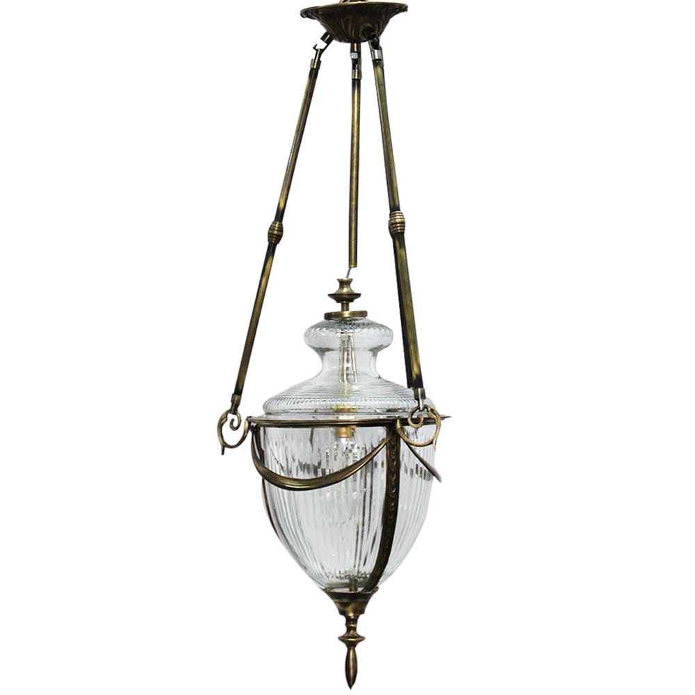 Clear Decorative Glass Ceiling Lamp