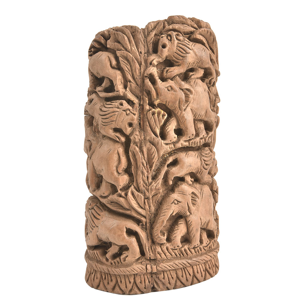 Home Decor Carved forest Animal Showpiece