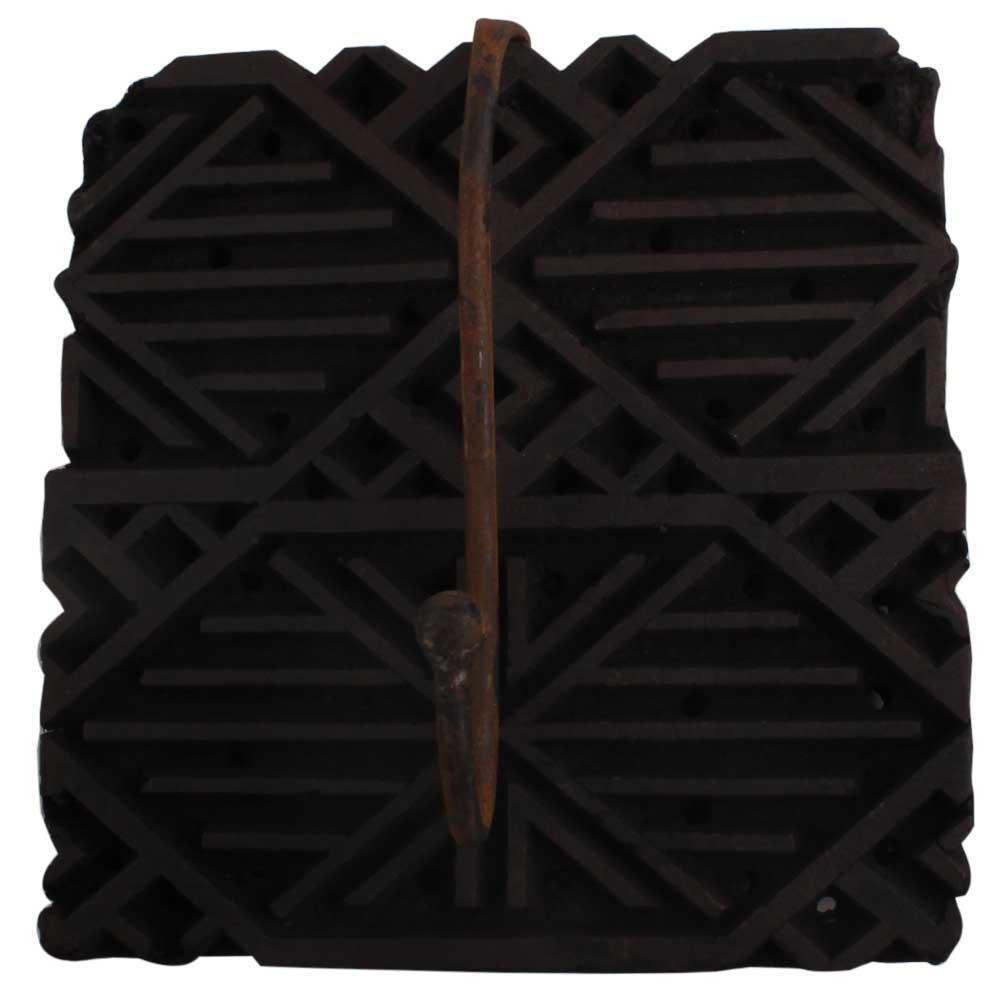 Wooden Printing Block Hooks