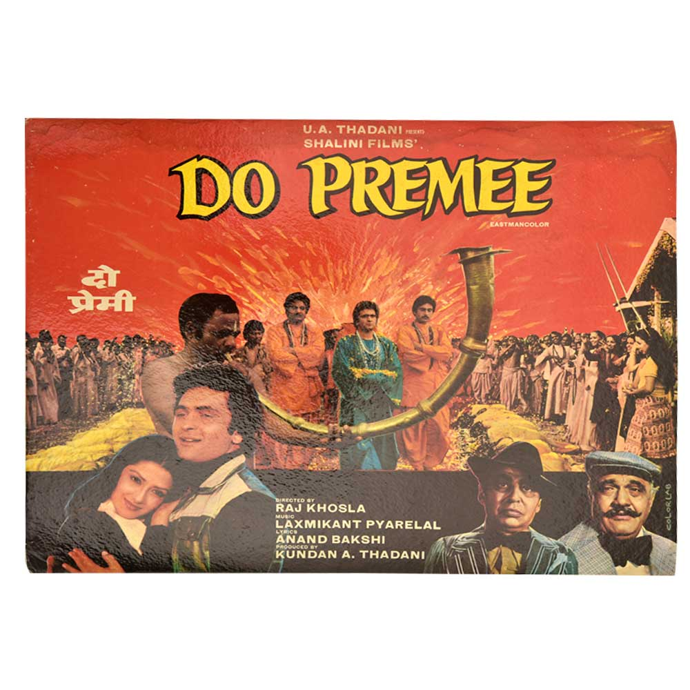 Old Promotional Bollyood Movie Do Premee Poster