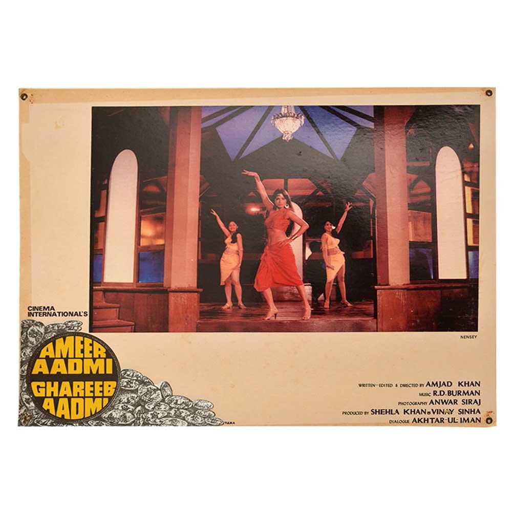 Dance Scene 1930 Ameer Aadmi Ghareeb Aadmi movie Poster