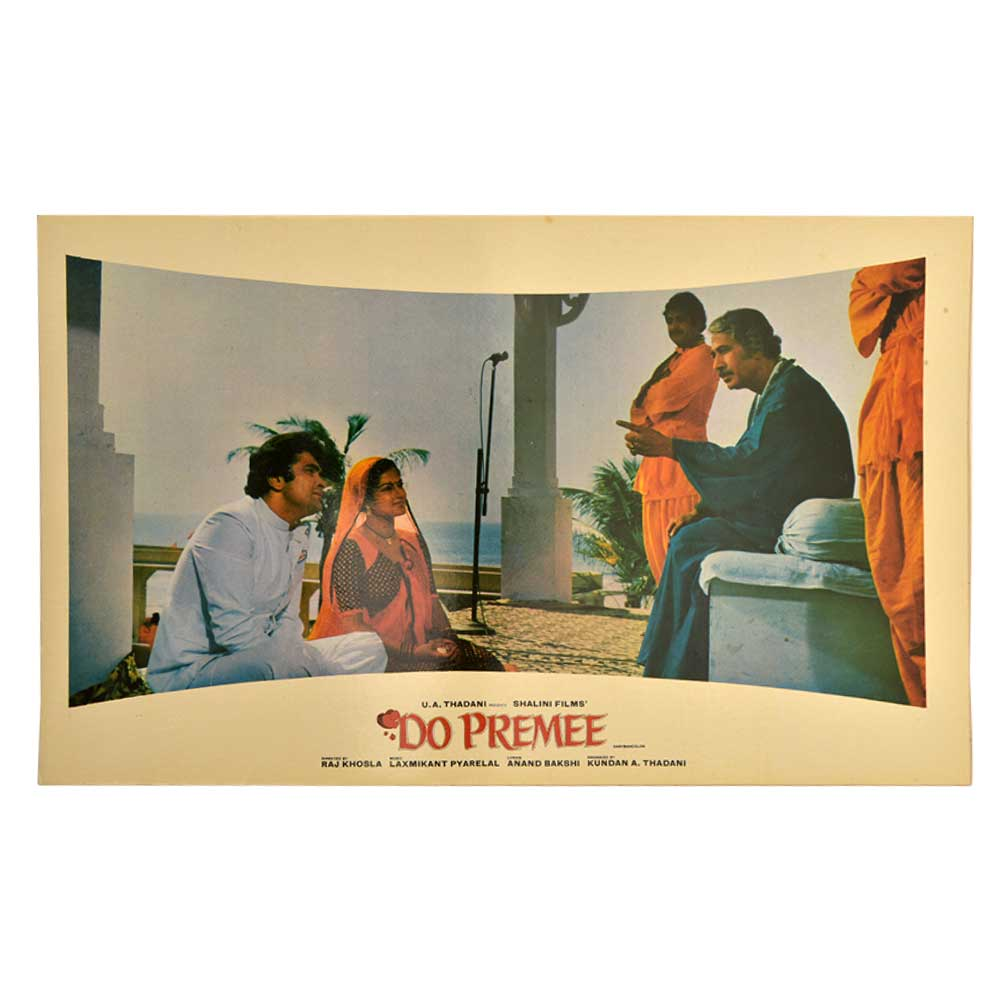 Do Premee 1980 Movie Scene Promotional Banner Poster