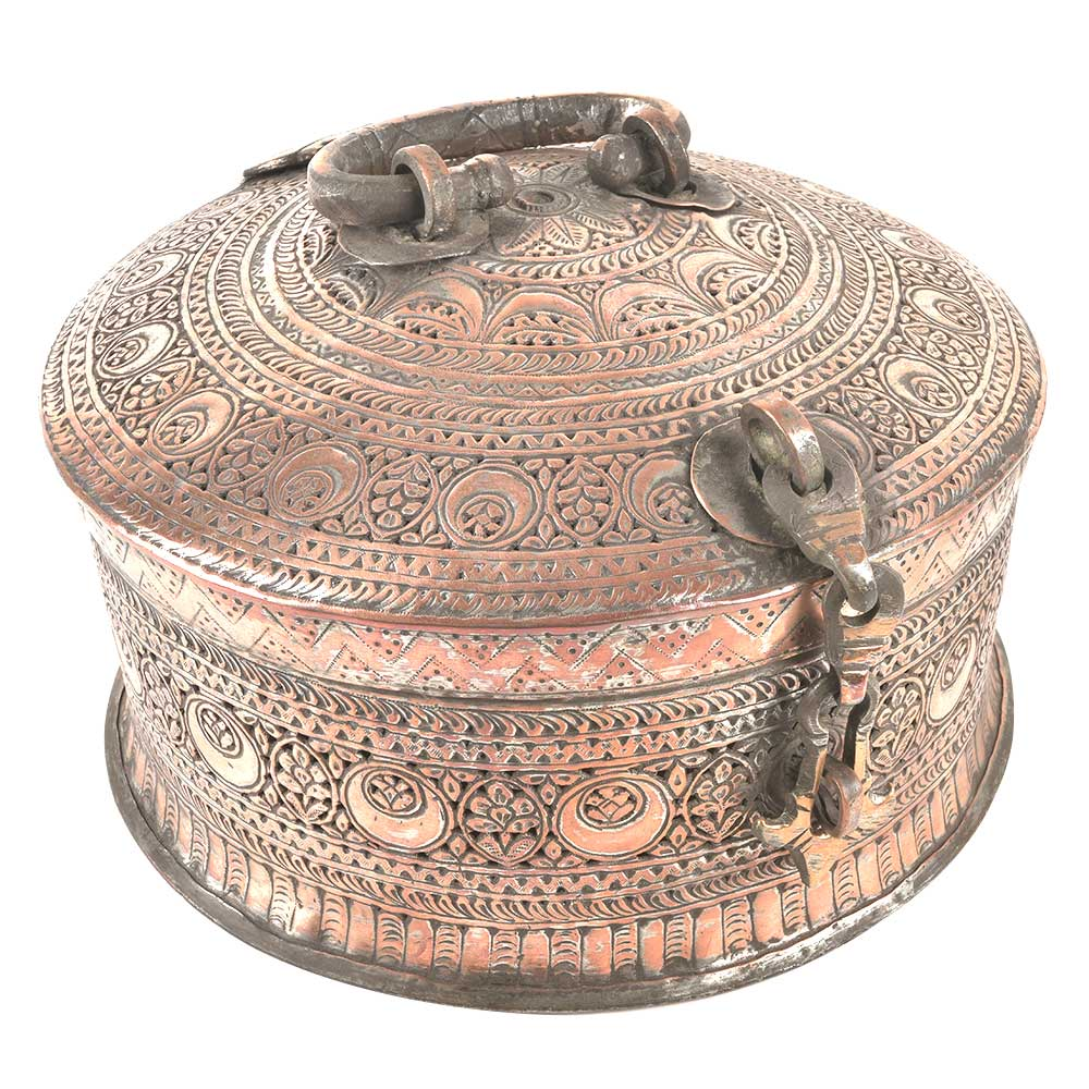 Copper Pan Daan or Jewellery Box