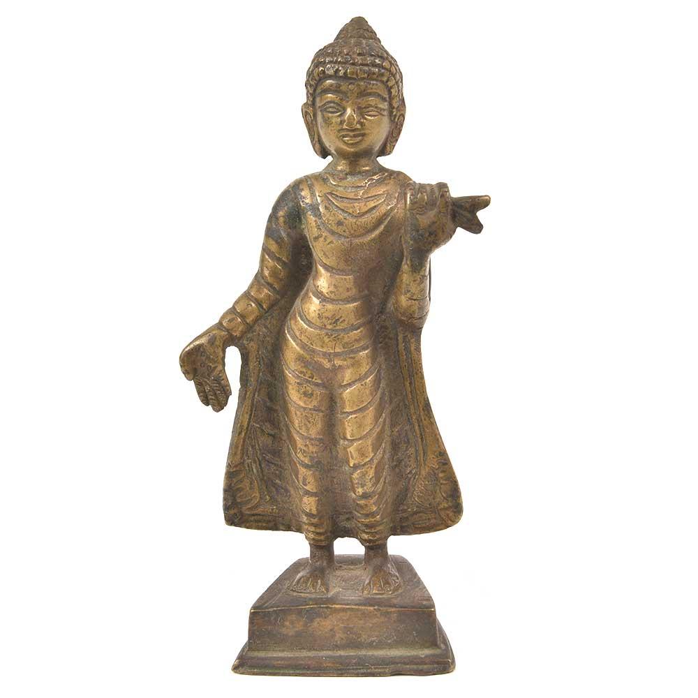 Bronze Buddha Standing Statue