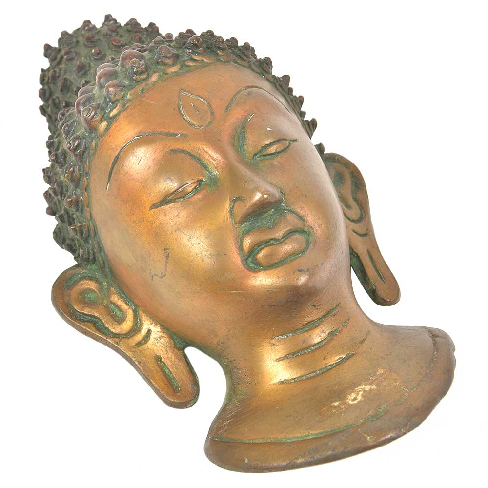 Bronze Buddha Wall Hanging