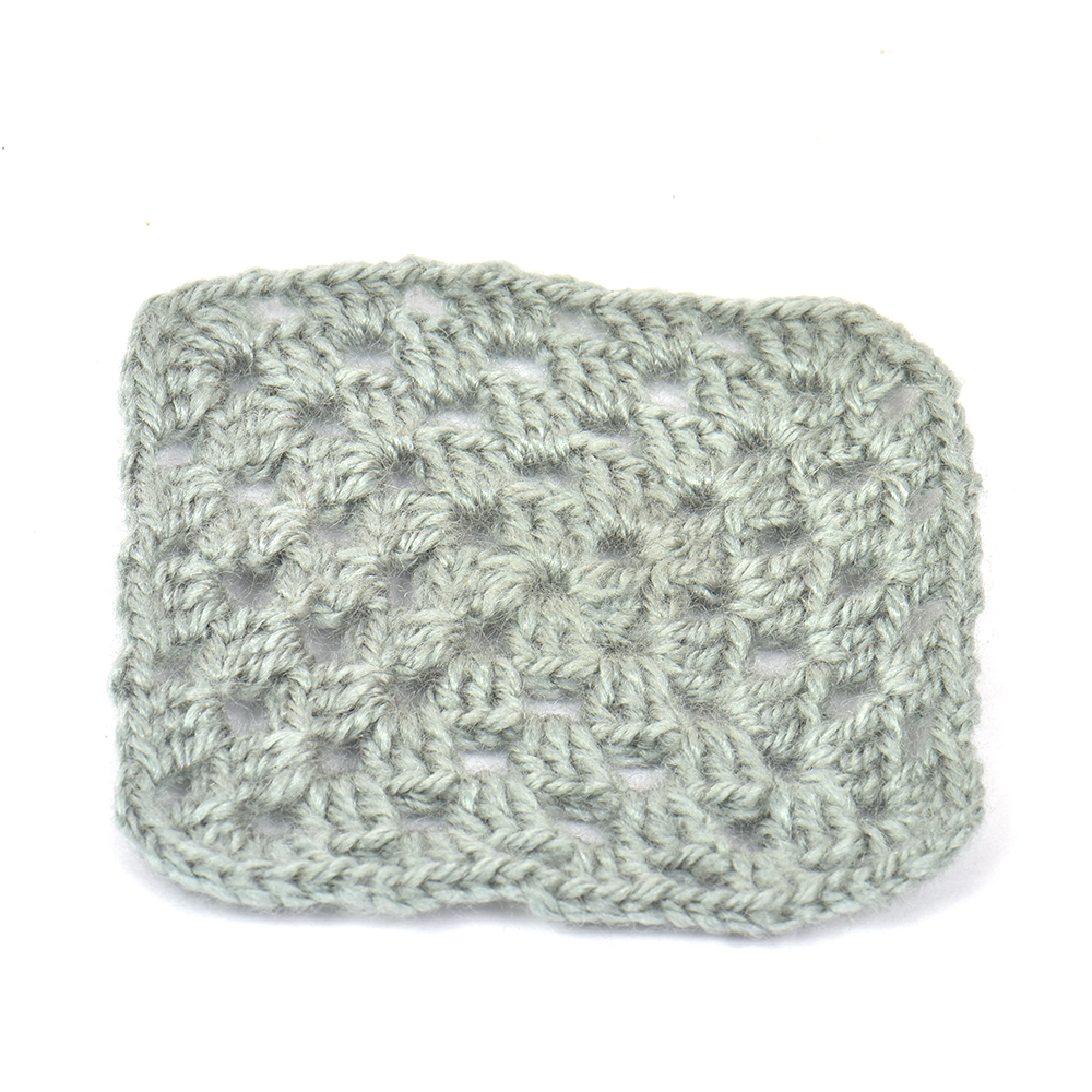 Grey Square Handmade Woolen Coasters Pack Of 6