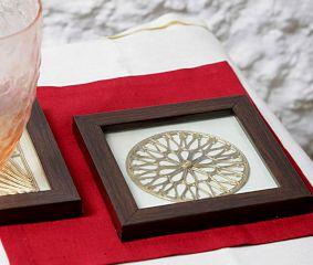 Dhokra Radial Coasters
