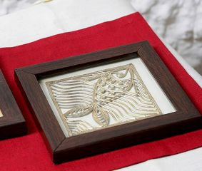 Dhokra Fish Coasters
