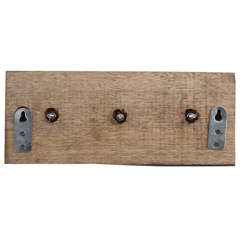 Bird Metal Dresser Wooden Hooks