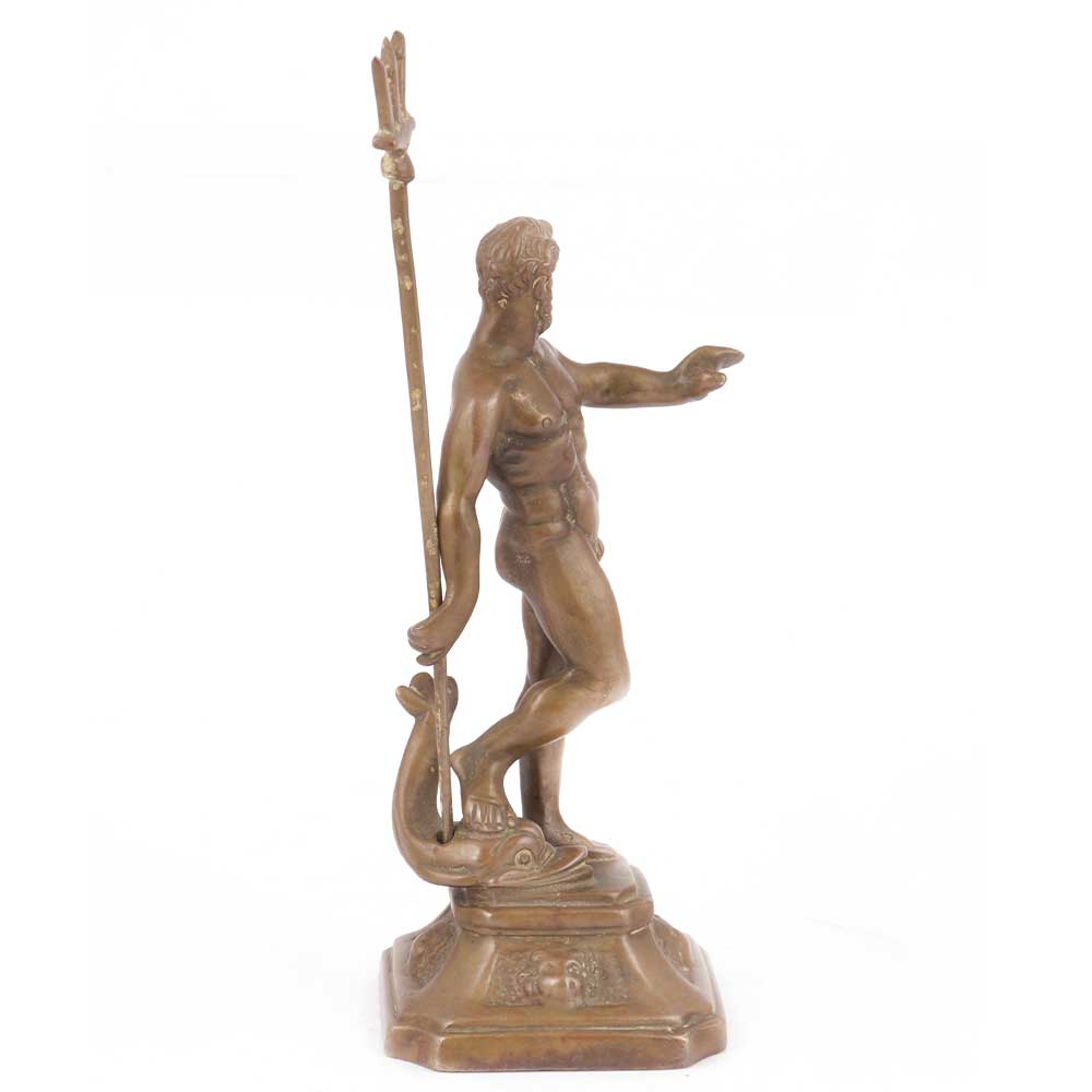Bronze Fisherman with Trident