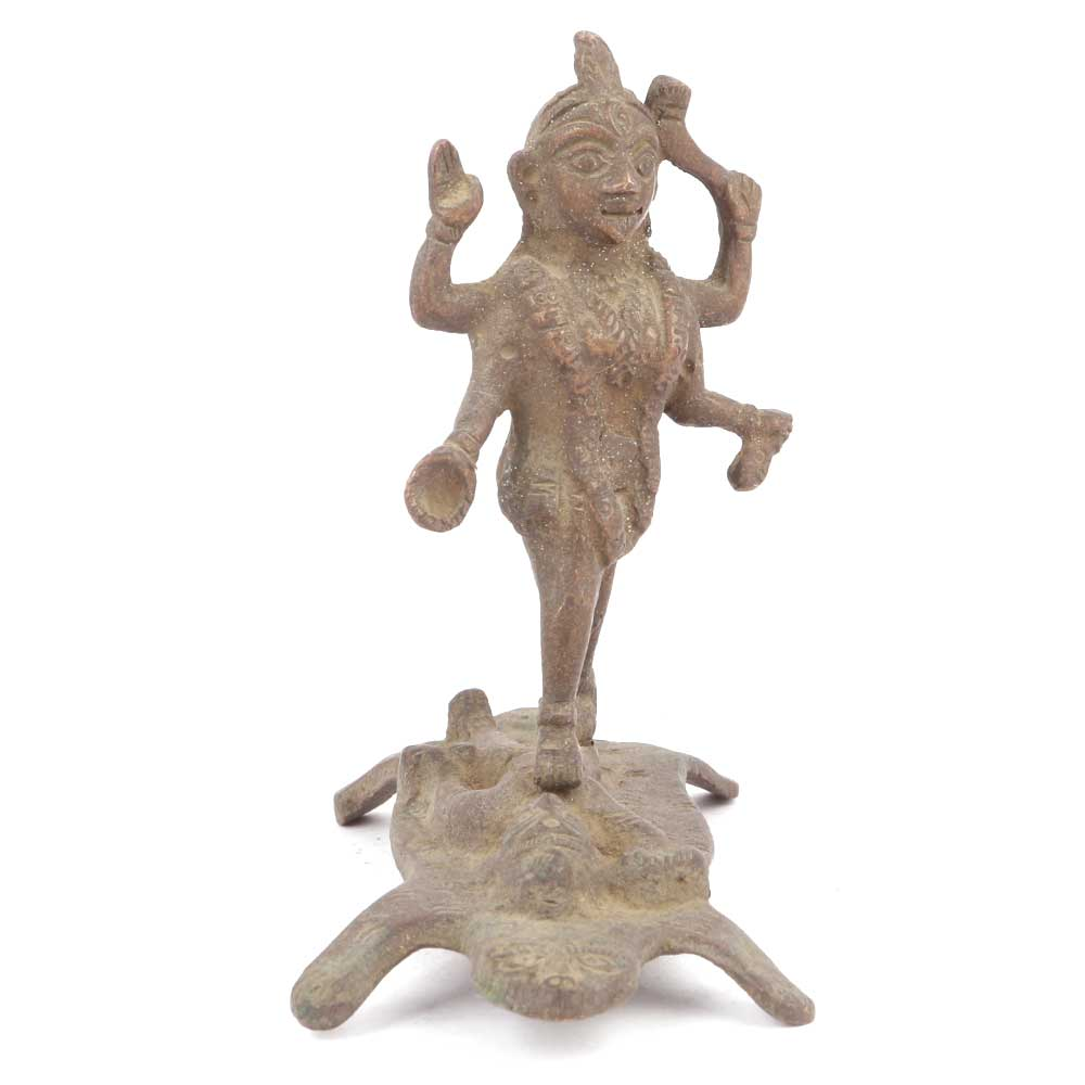 Brass Kali Maa Statue Figurine