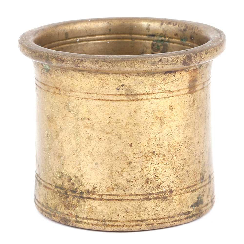 Bronze Engraved Panchamrita Cup