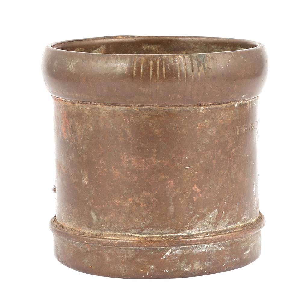 Bronze Measuring Cup With Thick Rim
