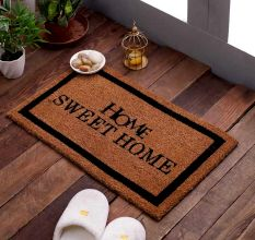 SWHF VBC Natural Printed Door And Floor Mat : Home Sweet Home