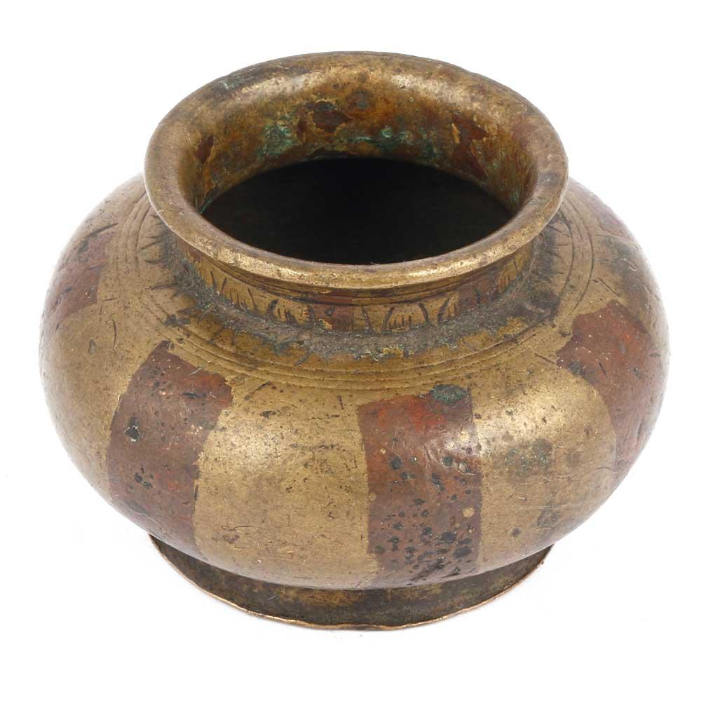 Bronze Painted Pot