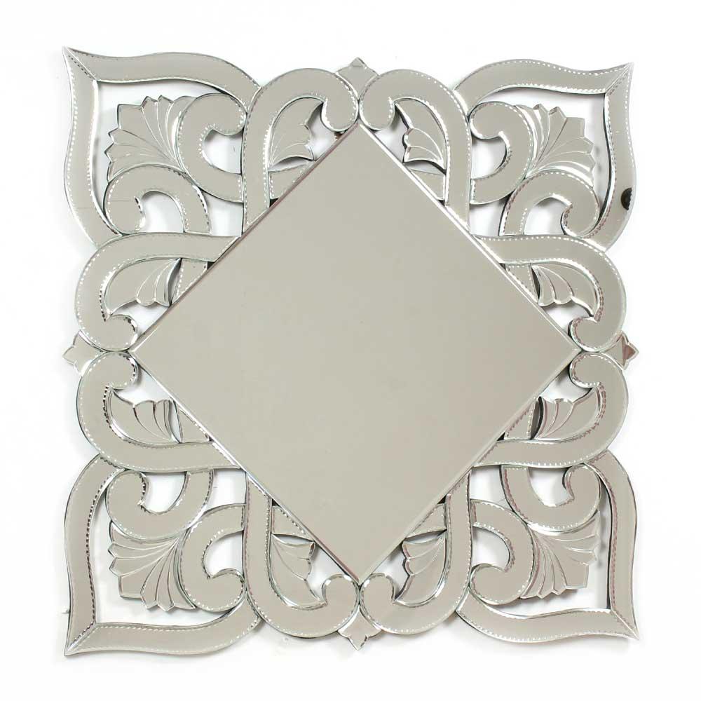 Glass Square Contemporary Mirror