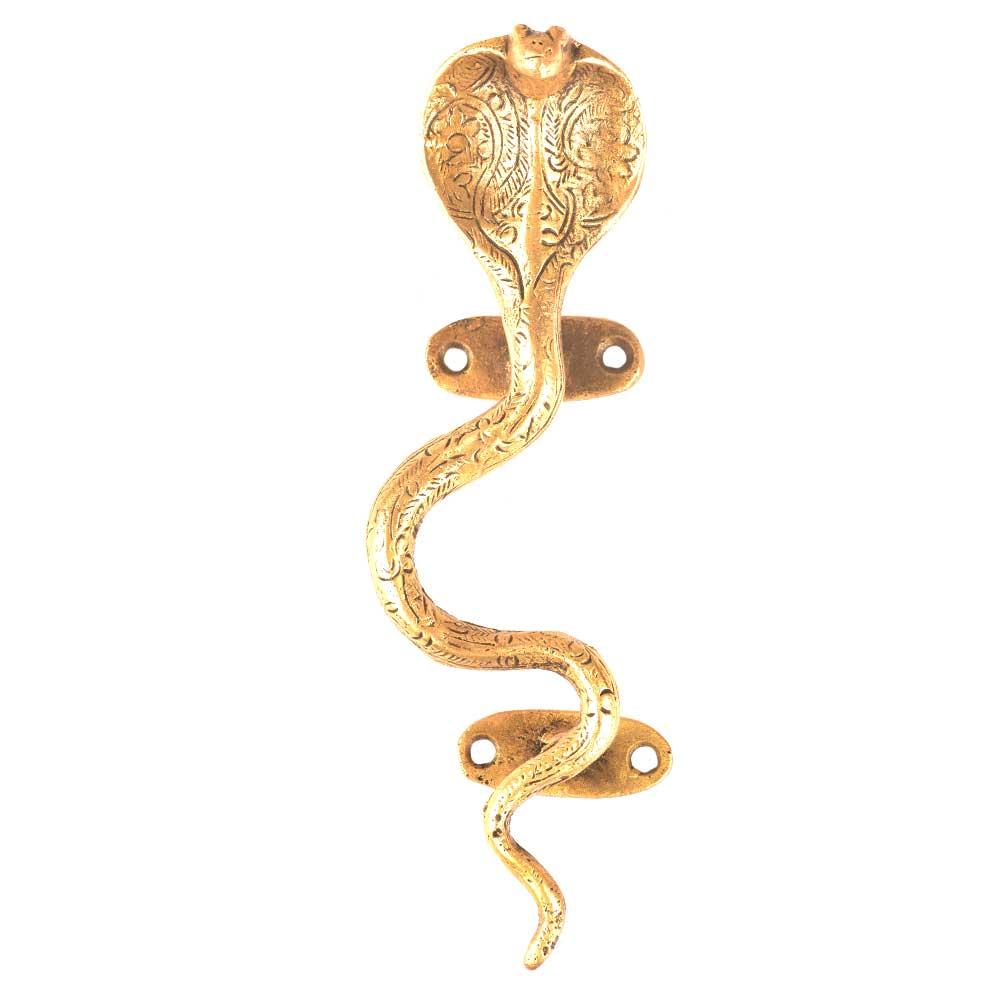 Brass Cobra Door Pull Handle