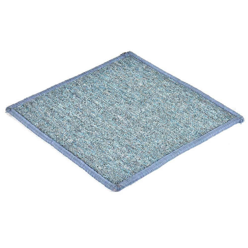 Sky Blue Handwoven Wollen Coaster
