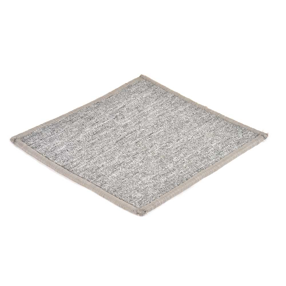 Grey Handwoven Wollen Coaster