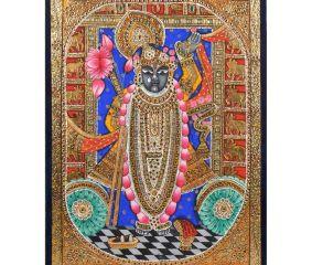 Shrinathji Tanjore Paintings In Frame